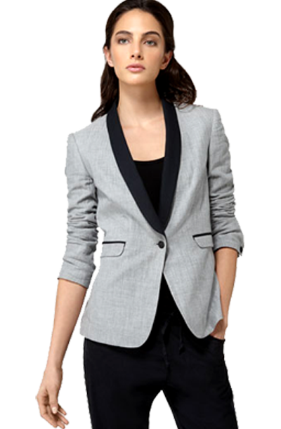 Ellen Tracy Jacket One Button Suiting Blazer 1.png